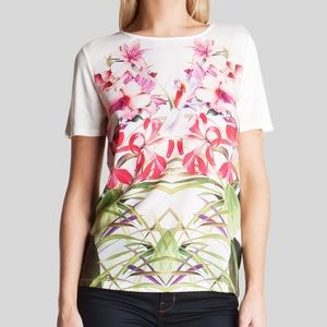 Ted Baker Pink Floral Renella Mirrored Tropics 2
